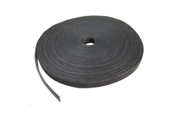 Dynamix 20M Roll of fastening, 20mm width, dual sided, BLACK colour