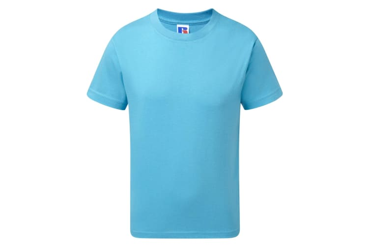 Jerzees Schoolgear Childrens/Kids Slim Fit Cotton T-Shirt (Turquoise) (7-8 Years)