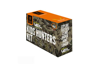 Hunters Element Desolve Veil Camo 4pc Kids Hunters Kit