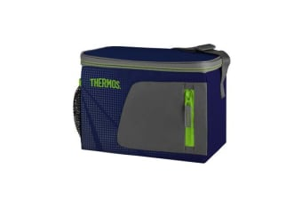 Thermos Radiance Soft Side Cooler 6 Can Dark Blue