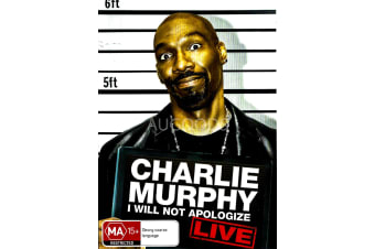 Charlie Murphy I Will Not Apologize - Region All Rare- Aus Stock Preowned DVD: DISC LIKE NEW