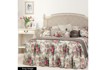 ROSEWOOD Bedspread KING SINGLE by Gainsborough