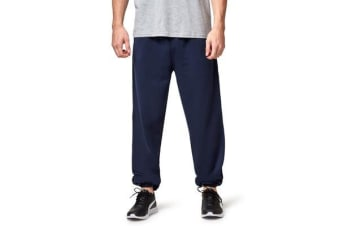 Hard Yakka Fleecy Track Pant (Navy)