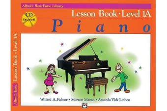 Alfred's Basic Piano Library Lesson Book, Bk 1a - Book & CD