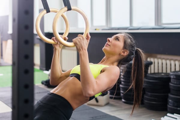 Fortis Portable Wooden Gym Ring
