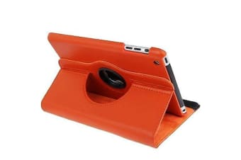 For iPad mini 1 / 2 / 3 Case  Durable High-Quality Leather Cover Orange