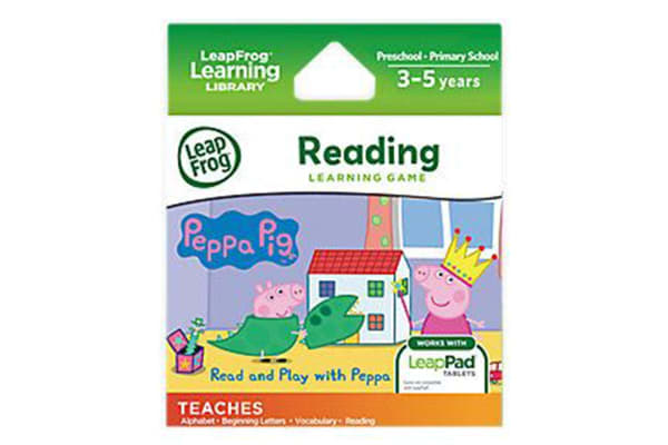 LeapFrog Learning Game: Read and Play with Peppa Pig