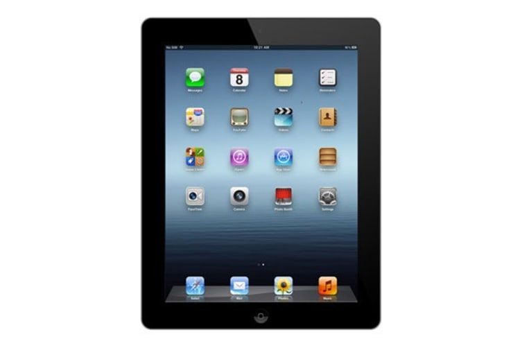 Apple iPad 4 Refurbished (64GB, Wi-Fi, Black) - A Grade