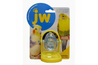 Tip & Treat Spinning Plastic Toy for Budgies, Small Birds by JW Insight