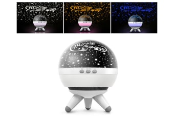 WJS Creative Rotatable Starry Sky Projection Lamp Romantic LED Rotating Ocean Projector Night Light-7