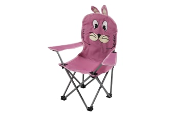 Regatta Great Outdoors Childrens/Kids Animal Camping Chair (Pink)