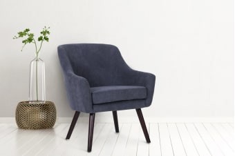 Shangri-La Thomsen Armchair (Midnight Blue)