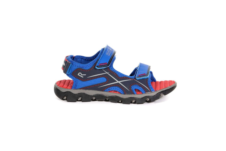 Regatta Childrens/Kids Kota Drift Sandals (Oxford Blue/Pepper) (2 UK)