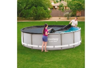 Bestway 4.27m Swimming Pool Cover For Above Ground Pools Black