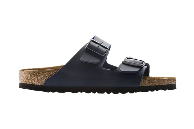 Birkenstock Unisex Arizona Birko-Flor Regular Fit Sandal (Navy, Size 41 EU)