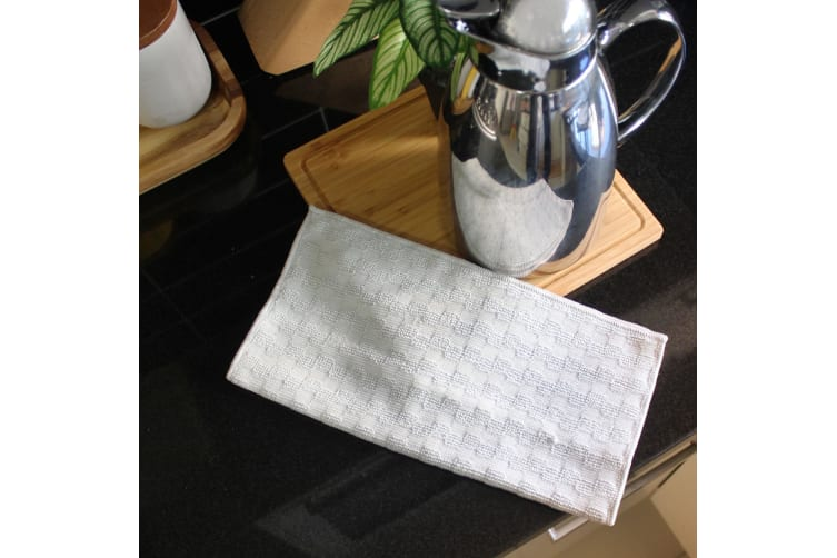 White Magic Eco Cloth Stainless Steel 32 X 32cm