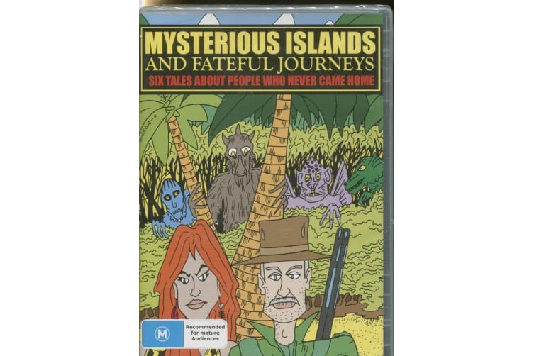 MYSTERIOUS ISLANDS AND FATEFUL JOURNEYS -PEOPLE WHO NEVER CAME HOME -3 's R0