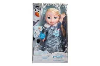 Disney Princess Frozen Singing Traditions Elsa Doll