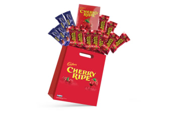 15pc Cadbury Cherry Ripe Kids Showbag with Dairy Milk Chocolates/Playing Cards