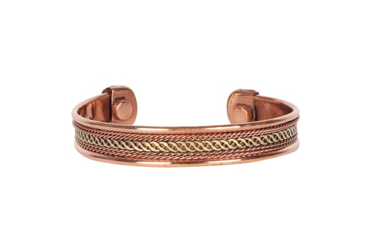 Something Different 12mm Copper Bracelet (Brown) (One Size)