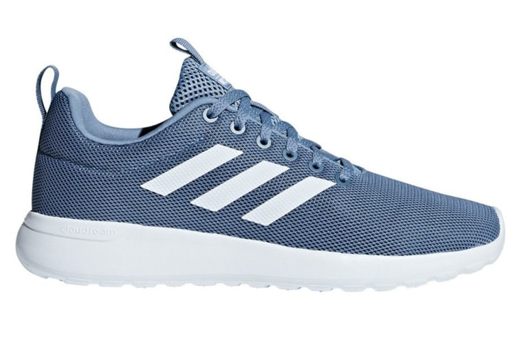 Adidas Neo Women's Lite Racer Shoe (Raw Grey/White, Size 6)