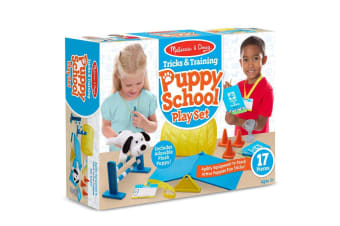 Melissa and Doug Tricks and Training Puppy School Pet Play Set