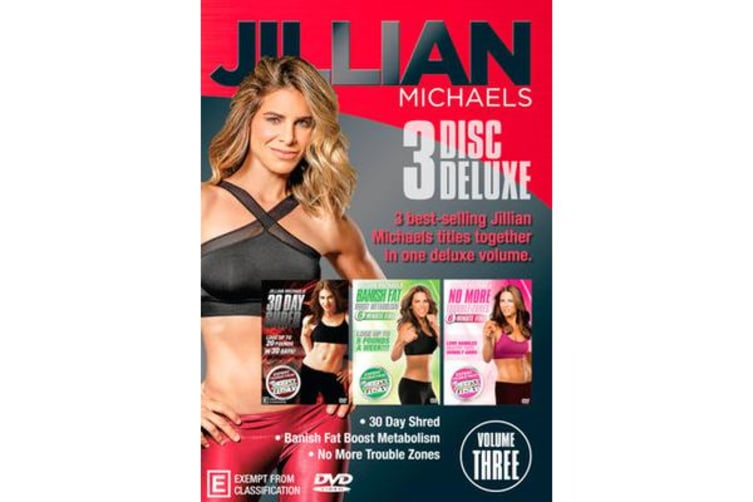 Jillian Michaels (Banish Fat, Boost Metabolism / No More Trouble Zones / 30 Day Shred) (Deluxe Edition)