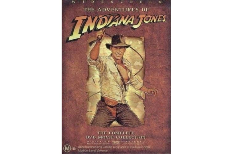 The Adventures of Indiana Jones: The Complete Movie Collection - Series Preowned DVD: DISC LIKE NEW