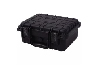 vidaXL Protective Equipment Case 35x29.5x15 cm Black