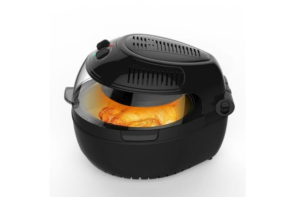 Large 10L Airfryer With Food Rotation