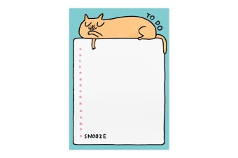 Ohh Deer To Do Snooze Cat A5 Notepad (Multicoloured)