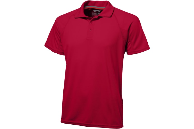 Slazenger Mens Game Short Sleeve Polo (Red) (XL)