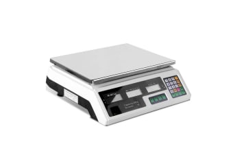 Electronic Computing Platform Digital Scale 40kg (White)