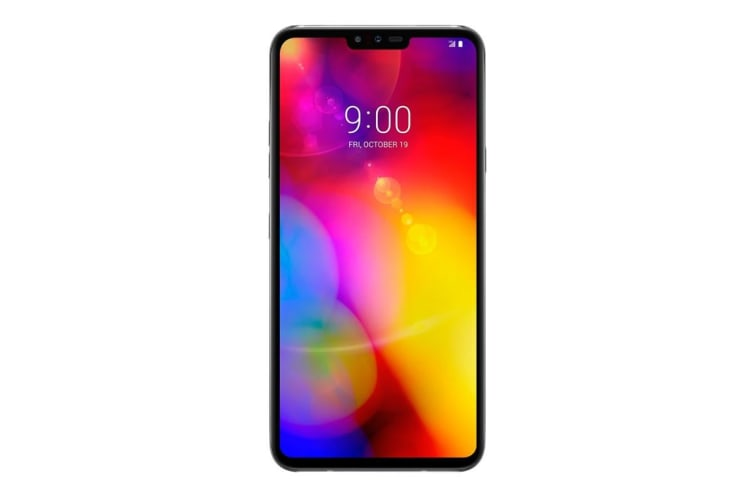 "LG V40 ThinQ (Dual Sim 4G/4G, 6.4"", 128GB/6GB) - Platinum Grey"