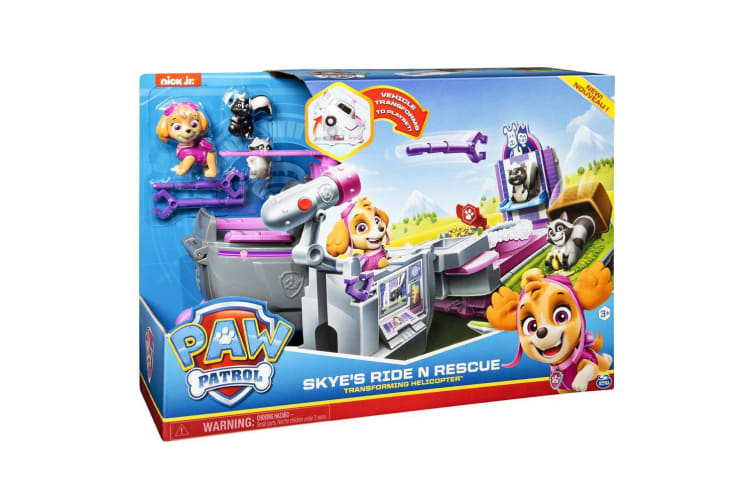 Paw Patrol Ride N Rescue Skye's Transforming Helicopter