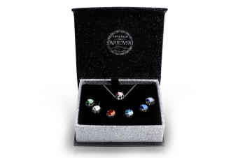 7Day Boxed Pendant Set Embellished with Swarovski crystals