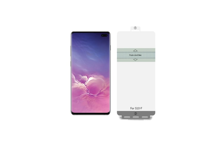 Suitable for Samsung S10 Hydraulic Film Toughened Soft Film Transparent Mobile Phone Film Samsung s10plus
