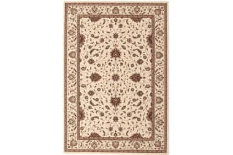 Stunning Formal Classic Design Rug Cream 230x160cm