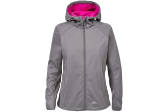 Trespass Womens/Ladies Sisely Waterpoof Softshell Jacket (Storm Grey) (XL)