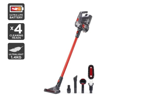 Kogan 22V Premium UltraLife Stick Vacuum & Accessories Kit