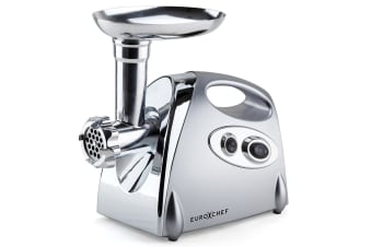 EuroChef 2800W Electric Stainless Steel Meat Grinder Mincer Sausage Filler Kibbe Maker