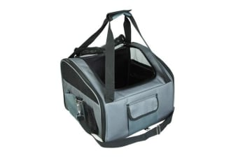Portable Soft Pet Carrier Crate L - GREY