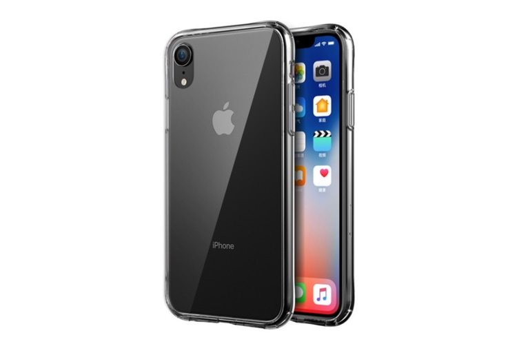 Aurora Toughened Glass Handset Shell Tpu Soft Shell For Iphone Transparent Iphone Xr(6.1Inch)