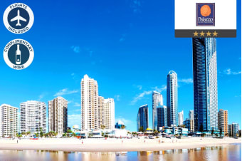 GOLD COAST: 5 Nights at Palazzo Colonnades in a 1 Bedroom Apartment Including Flights for Two
