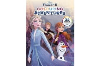 Frozen 2 - Colouring Adventures (Disney)