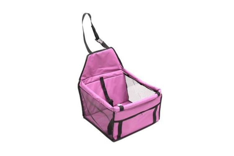 Pink Pet Car Booster Seat Puppy Cat Dog Auto Carrier