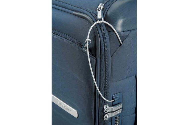 Samsonite Octolite 55cm Spinner Carry-On Cabin Luggage Case (Navy Blue)