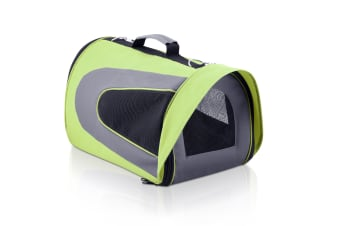 Pet Dog Cat Carrier Travel Bag Large Lime (Green)