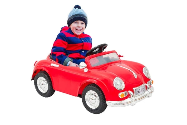 Kids Electric Ride On Car with Remote Control - Red