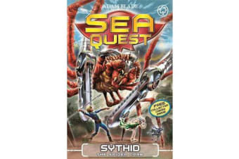 Sea Quest: Sythid the Spider Crab - Book 17